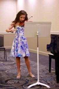 Sasha barr, violin