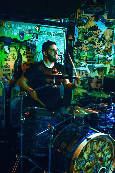 Drum Teacher Alejandro Gonzalez
